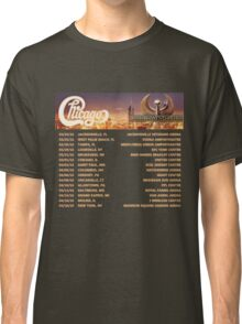 CHICAGO EARTH WIND FIRE TOUR DATES 2016 Classic T-Shirt