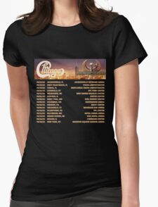 CHICAGO EARTH WIND FIRE TOUR DATES 2016 Womens Fitted T-Shirt