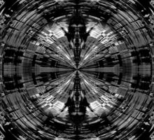 Abstract sci-fi pattern Sticker