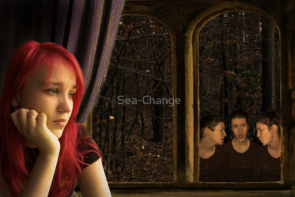 Secret Whispers (Image and Verse) by Sea-Change