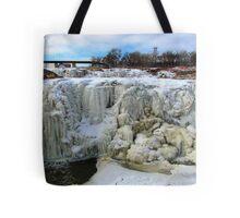Frostbite Falls Tote Bag