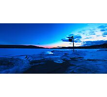 End of the Day Blues Photographic Print