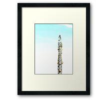 ©HCS Communication Tower Framed Print