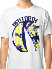 Red Earth (Ocean Blue) by Rea Dora Classic T-Shirt