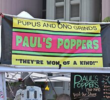 Pupus and Ono Grinds by David Davies