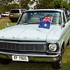 Australia Day XP Ford Ute by Christopher Houghton
