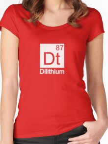 Dilithium - Star Trek Women's Fitted Scoop T-Shirt