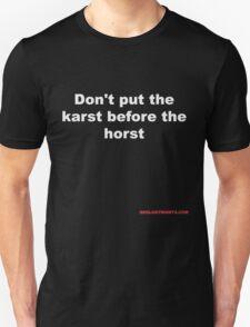 Geology jokes for dark shirts T-Shirt