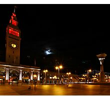 Niners - Red Ferry Building Photographic Print