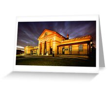 Taree Court House 0001 Greeting Card