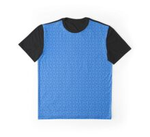 Mail Armor (Chain Mail) Design - Blue Graphic T-Shirt