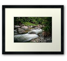 Between Fire and Tempest Framed Print
