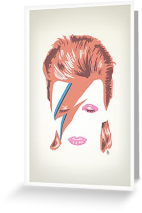 David Bowie: Aladdin Sane by peopleinspandex