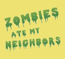 zombies ate my neighbors Kids Clothes