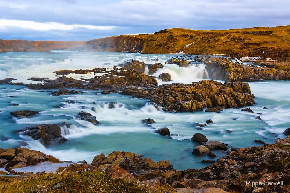 Urriðafoss, Iceland by Pippa Carvell