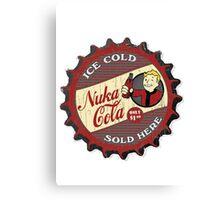 Fallout 4 - Nuka Cola - New Cap Canvas Print