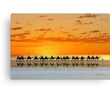 Cable Beach, Broome Canvas Print