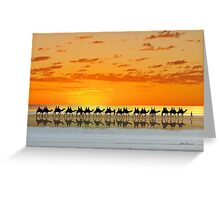 Cable Beach, Broome Greeting Card