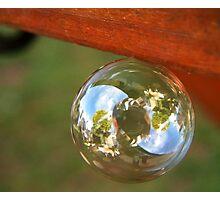 Upside Down Challenge Photographic Print