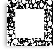 white square Canvas Print