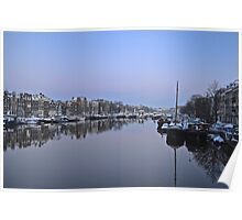 Amstel canal (Amsterdam) Poster