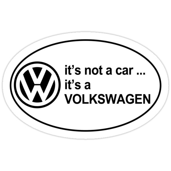 It's a Volkswagen by Barbo