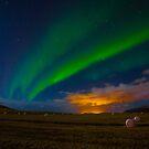 Aurora Borealis  by Pippa Carvell