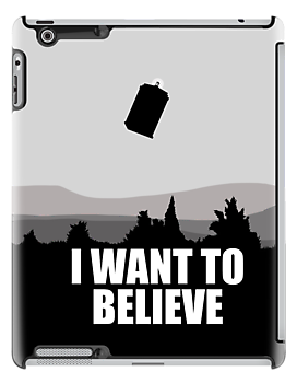 I want to believe in TARDIS by KanaHyde
