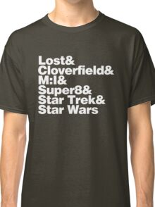 JJ ABRAMS DIRECTOR PRODUCER TEE Classic T-Shirt