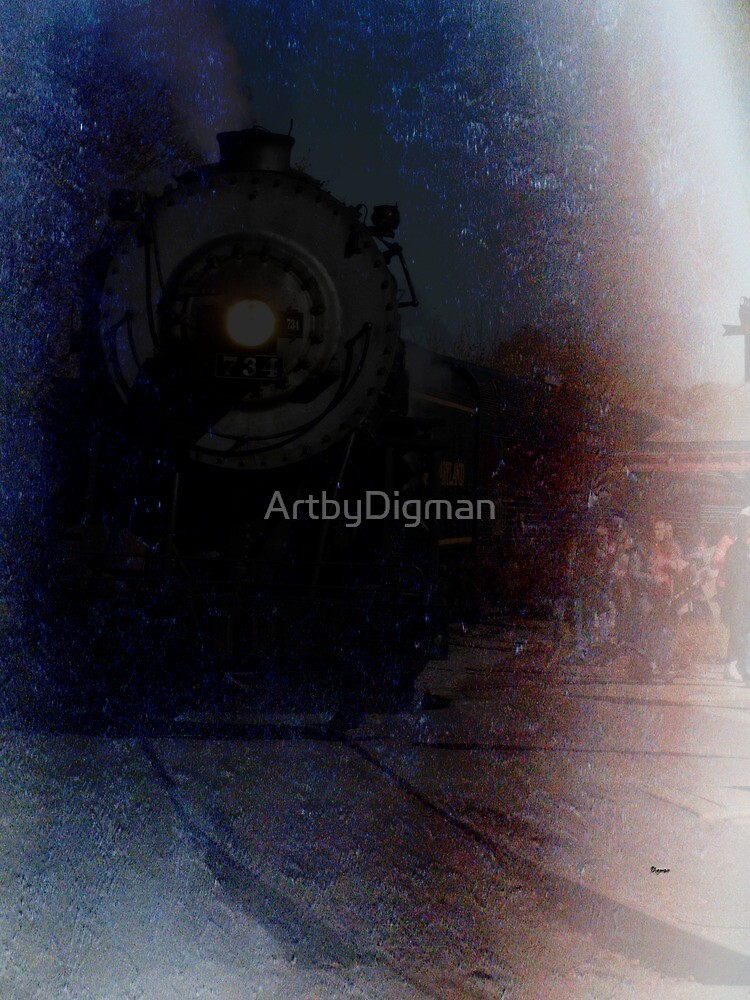 Rolling back into harbor by ArtbyDigman