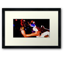Heavy Metal Never Die Framed Print