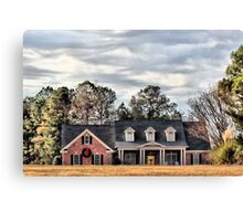 Christmas in North Carolina Canvas Print