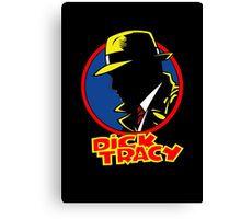 DICK TRACY PROFILE Canvas Print