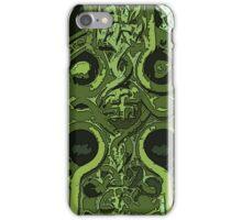 Green Celtic Cross iPhone Case/Skin