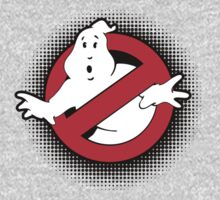 Original Ghostbusters Halftone Logo (in colour) by electricFIELD
