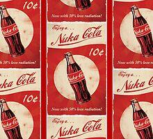 Fallout 4 - Nuka Cola - Logo by DANT art