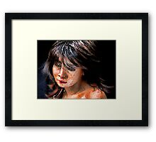 Sad One Framed Print