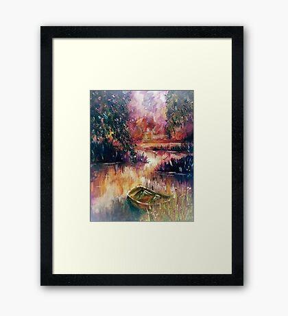 Lakeside Dream Framed Print