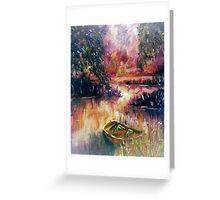 Lakeside Dream Greeting Card