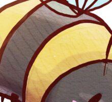 Chubby Bumblebee Sticker