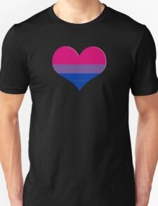 bi heart Unisex T-Shirt