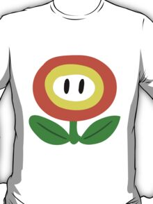 SMB Fire Flower T-Shirt
