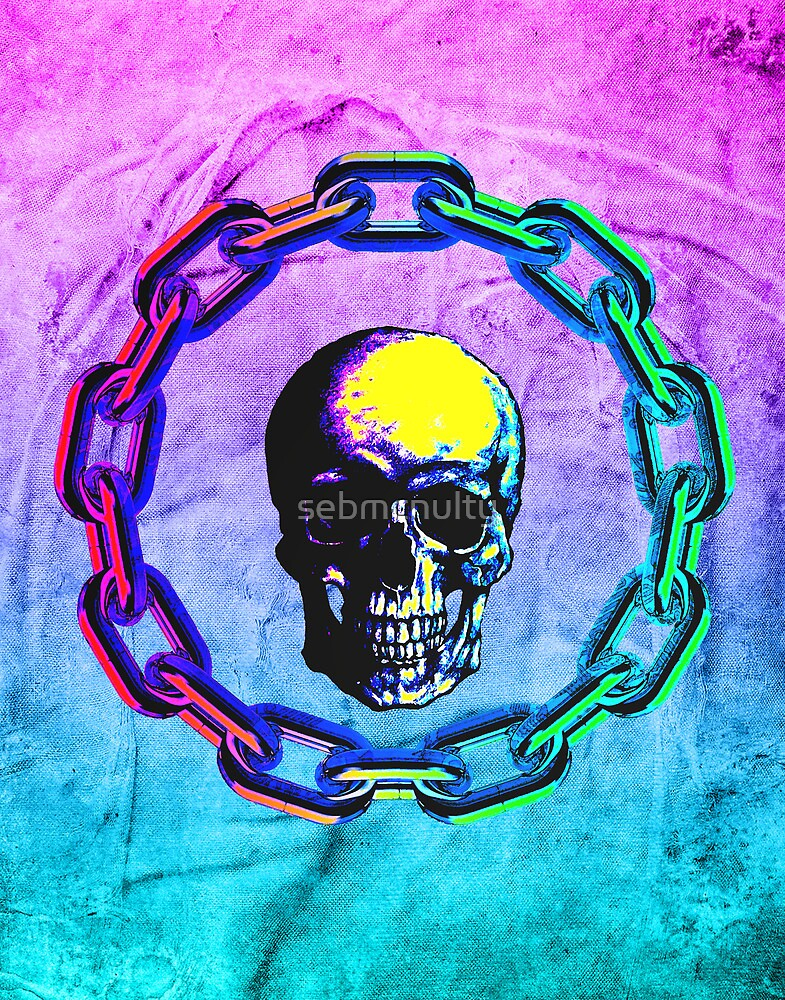 Skull Chain by sebmcnulty