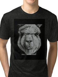 Alpaca shirt Tri-blend T-Shirt