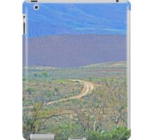 A road to the hills from Beltana Station iPad Case/Skin