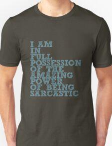 """The Demon's Lexicon: """"Sarcastic"""" T-Shirt"""
