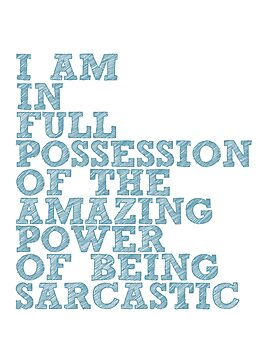"The Demon's Lexicon: ""Sarcastic"" by dictionaried"