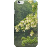blooming tree by the water iPhone Case/Skin