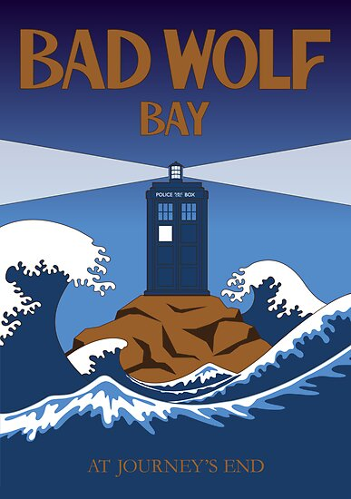 Bad Wolf Bay  by cloudshadow