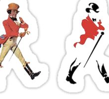 Its history on colour!!! Sticker